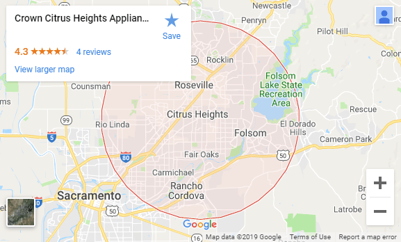 Appliance Repair Citrus Heights, CA | (916) 526-3468